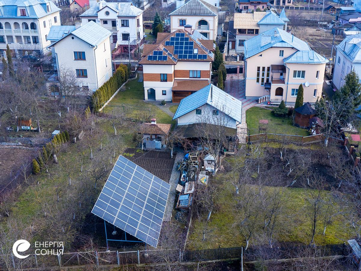 Мережева сонячна електростанція (СЕС) потужністю 25,29 кВт – Фотозвіт #5