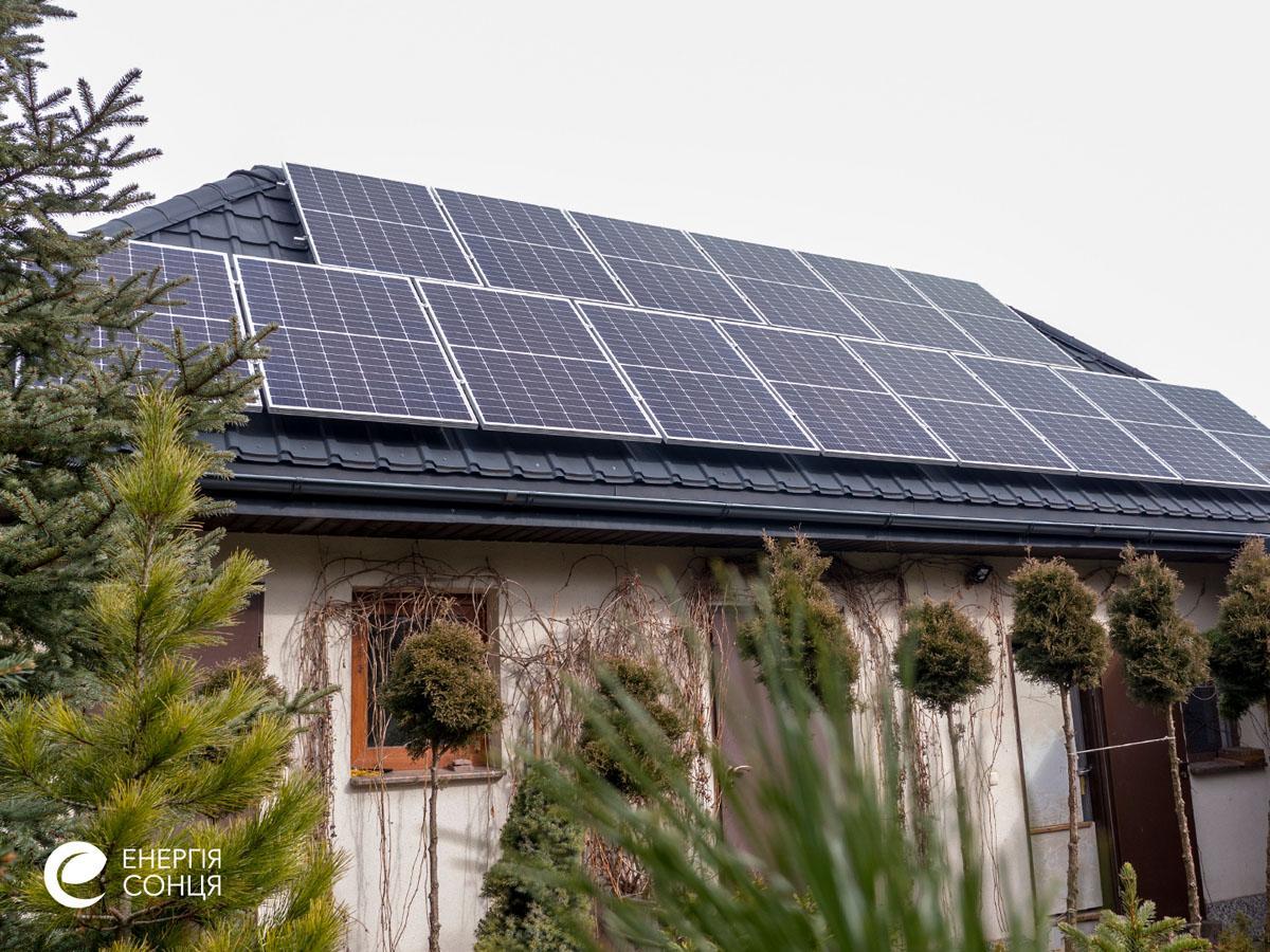 Мережева сонячна електростанція (СЕС) потужністю 33,68 кВт – Фотозвіт #6