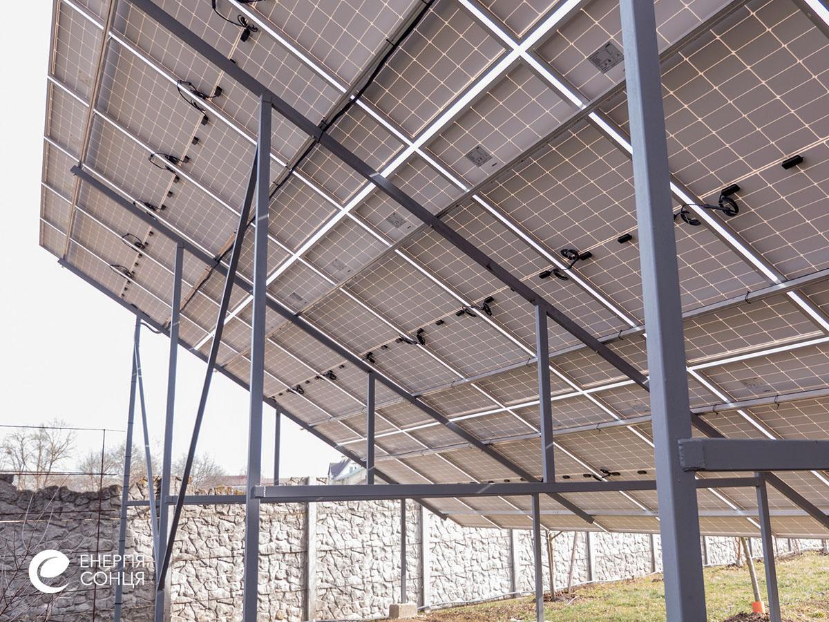 Мережева сонячна електростанція (СЕС) потужністю 34,425 кВт – Фотозвіт #5