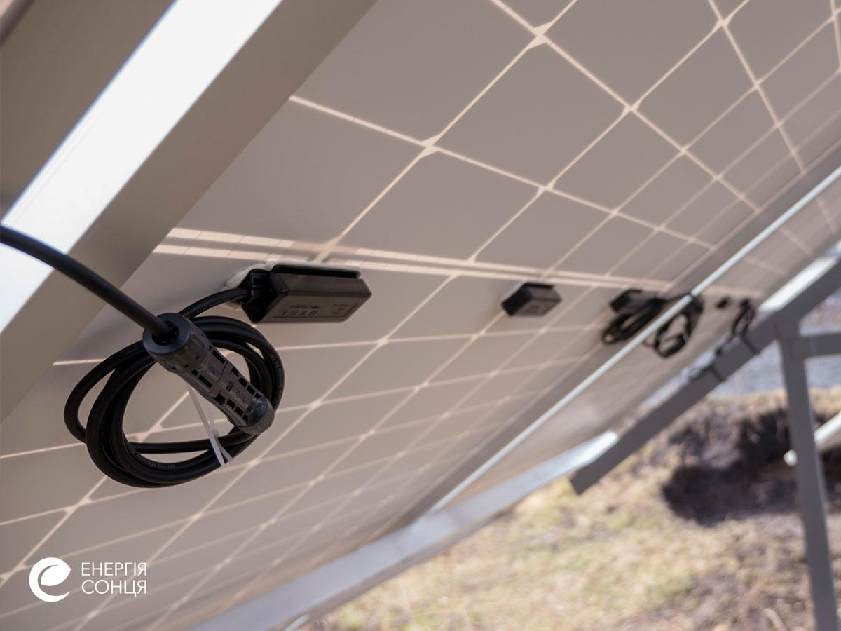 Мережева сонячна електростанція (СЕС) потужністю 34,425 кВт – Фотозвіт #6