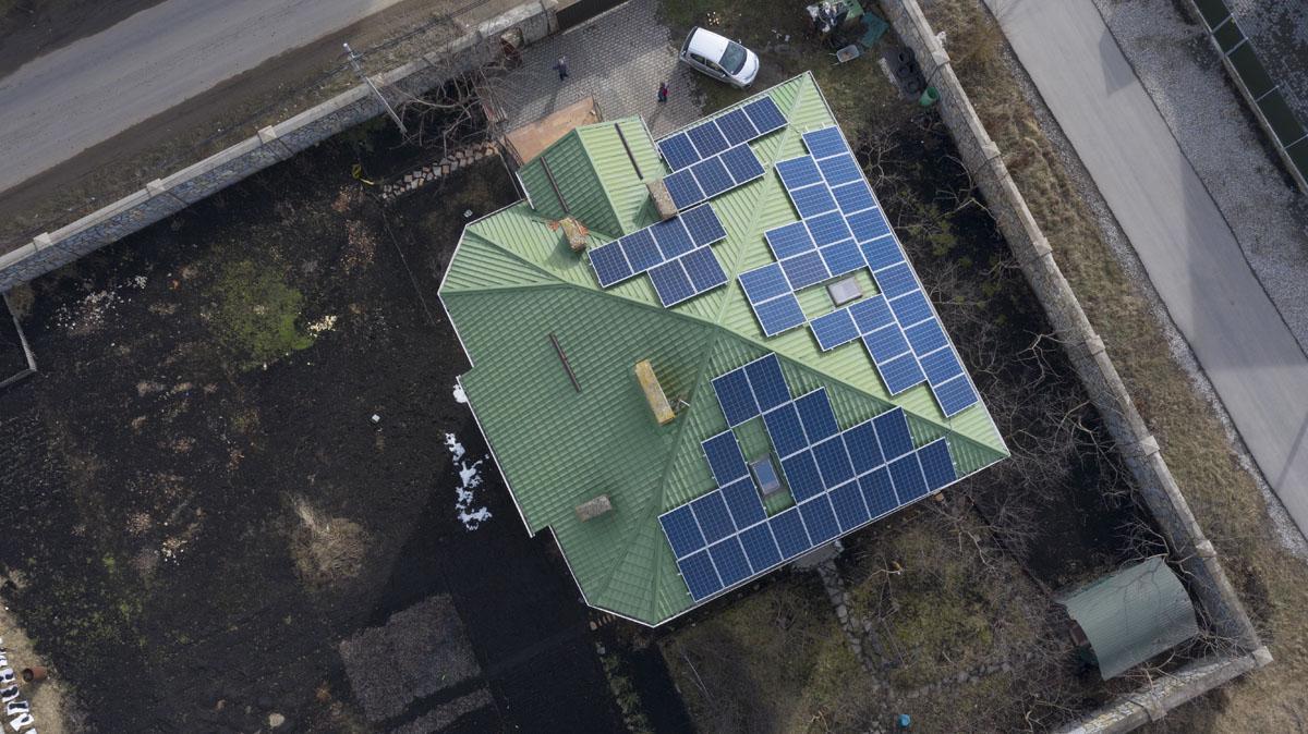 Мережева сонячна електростанція (СЕС) потужністю 15,12 кВт – Фотозвіт #5