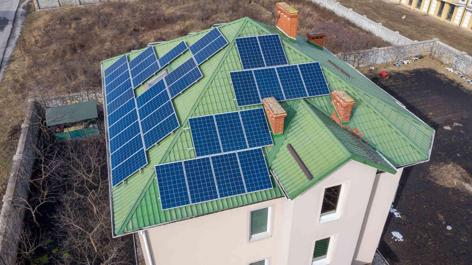 Мережева сонячна електростанція (СЕС) потужністю 15,12 кВт – Фотозвіт #1