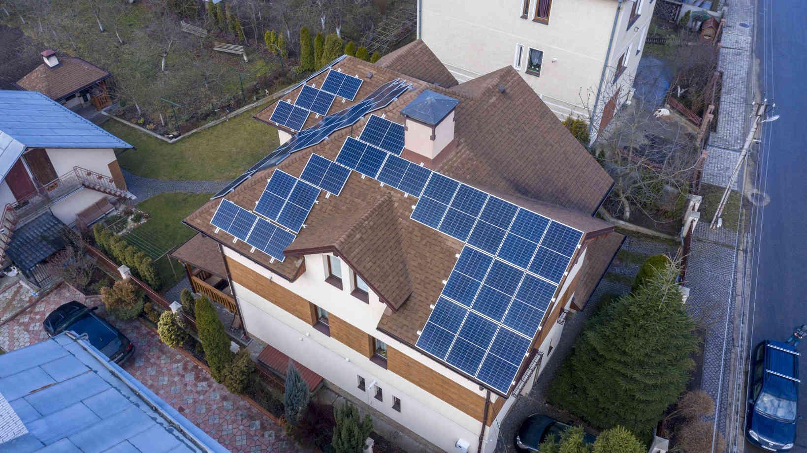 Мережева сонячна електростанція (СЕС) потужністю 25,29 кВт – Фотозвіт #2
