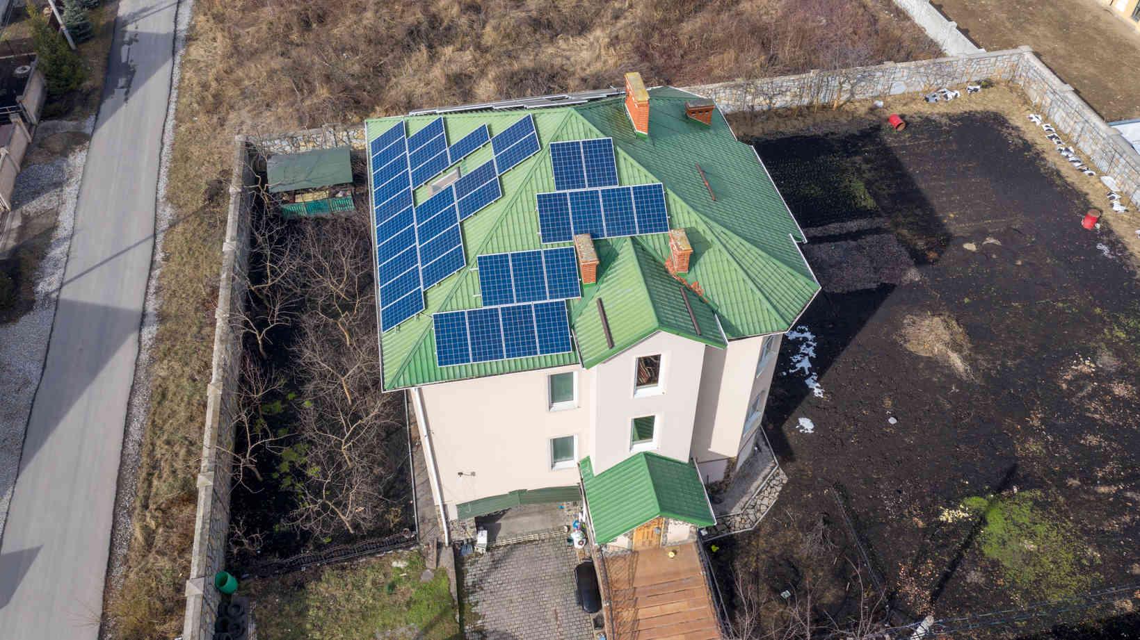 Мережева сонячна електростанція (СЕС) потужністю 15,12 кВт – Фотозвіт #2