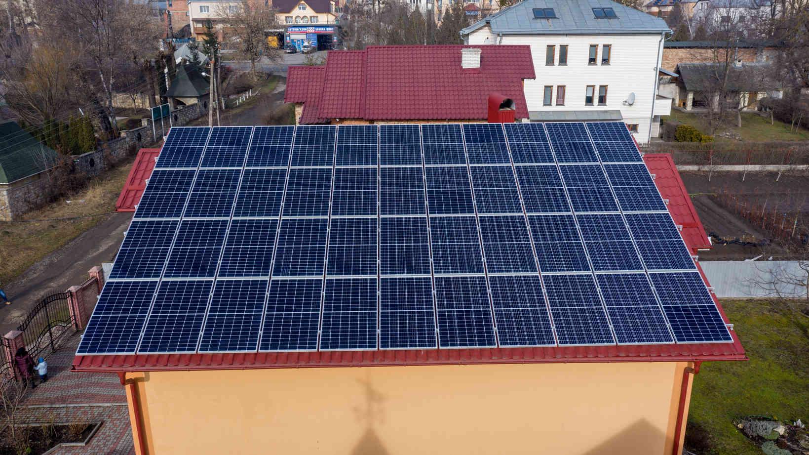 Мережева сонячна електростанція (СЕС) потужністю 14,08 кВт – Фотозвіт #2