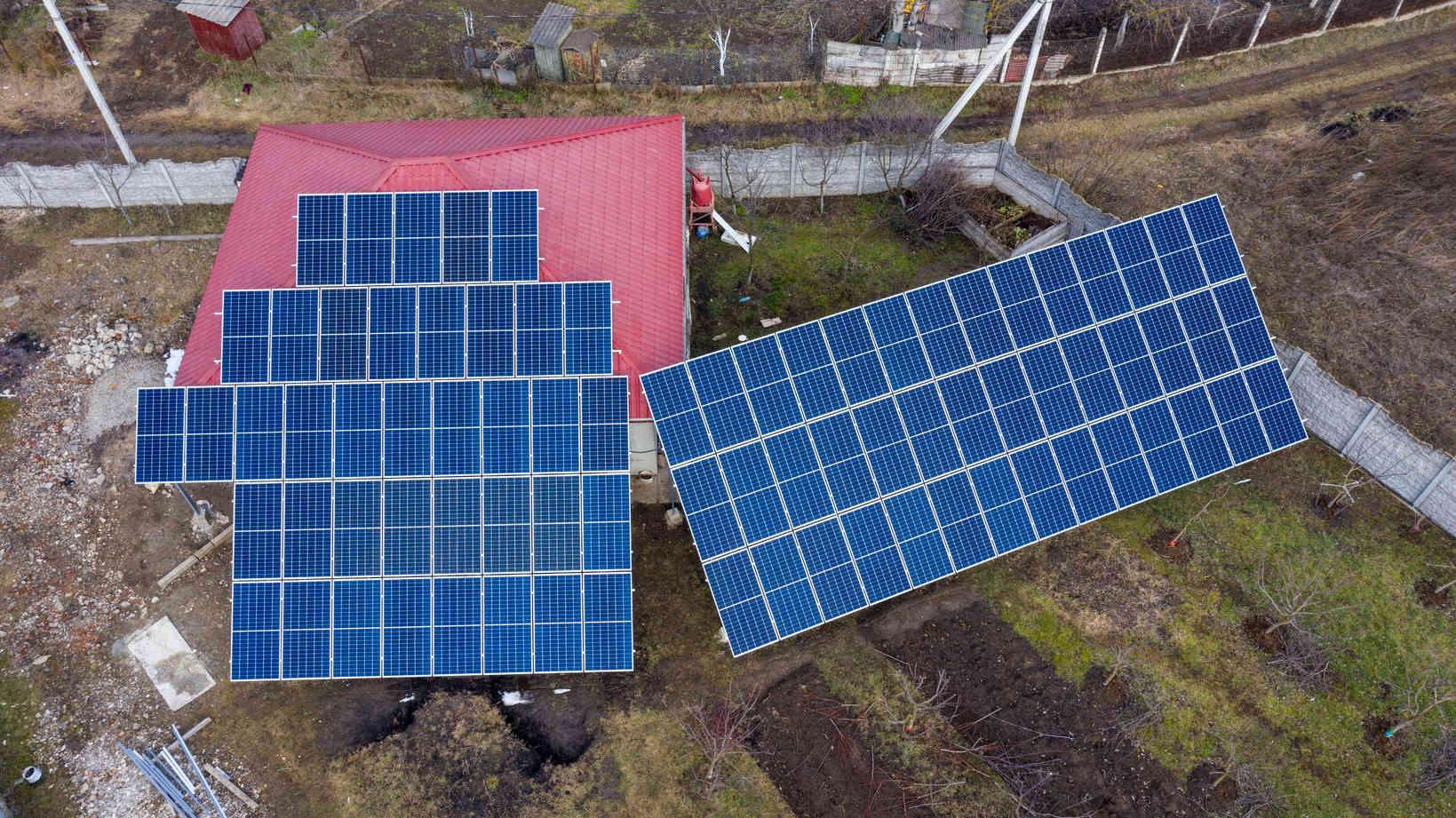 Мережева сонячна електростанція (СЕС) потужністю 34,425 кВт – Фотозвіт #2