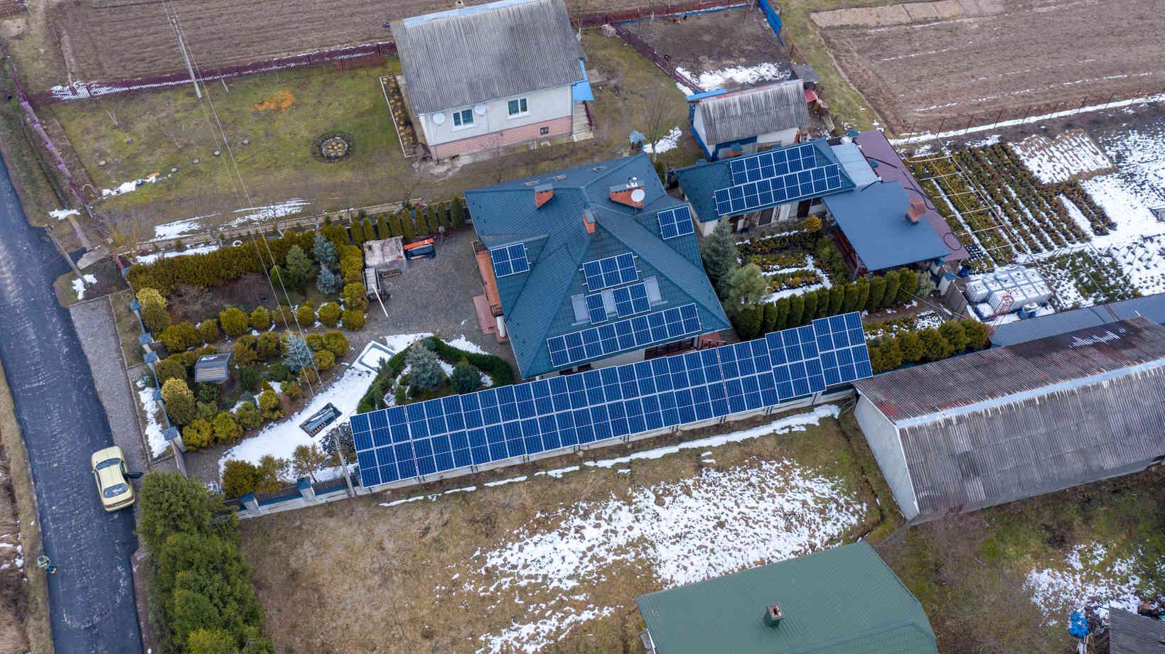 Мережева сонячна електростанція (СЕС) потужністю 33,68 кВт – Фотозвіт #2