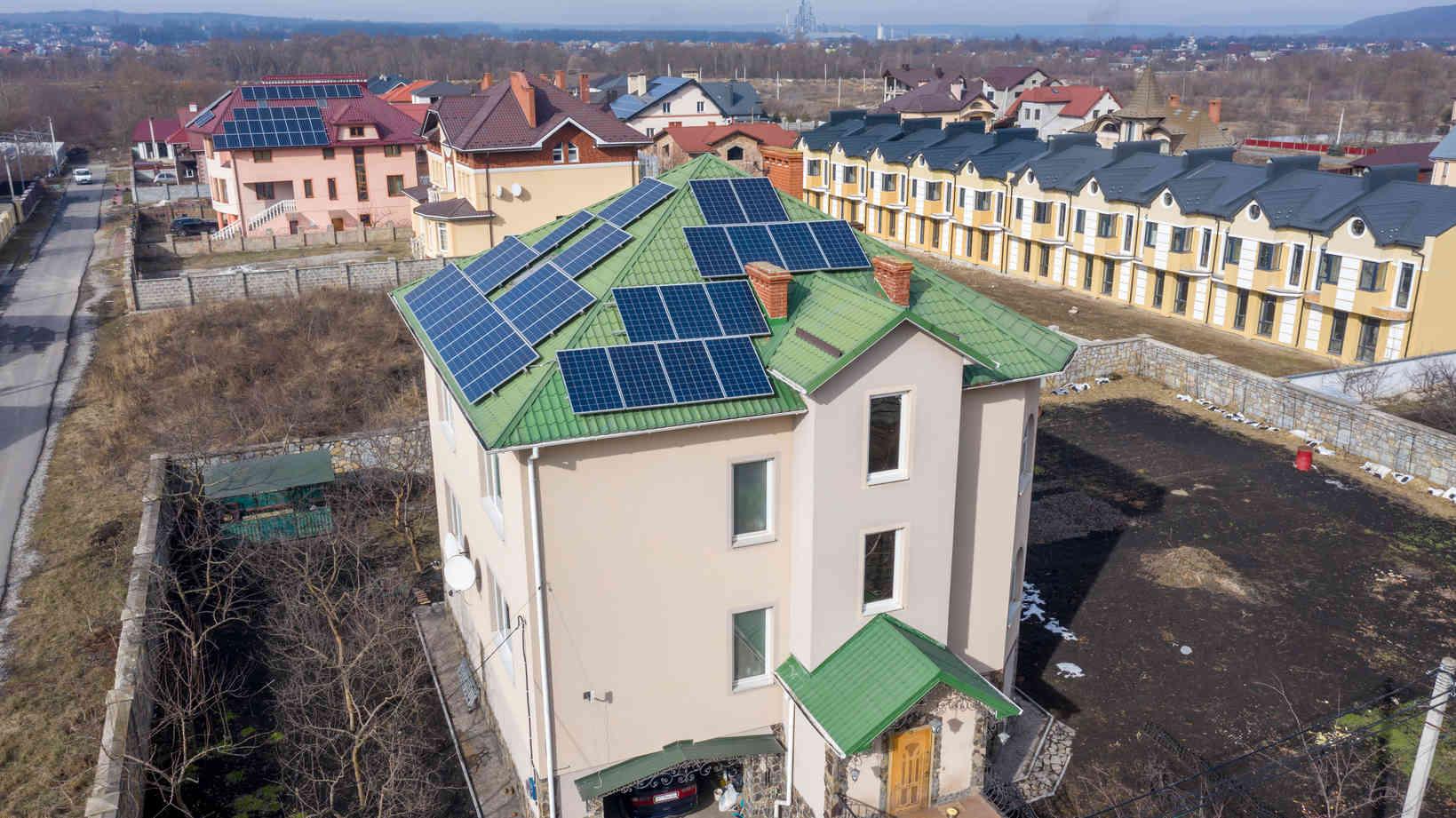 Мережева сонячна електростанція (СЕС) потужністю 15,12 кВт – Фотозвіт #3