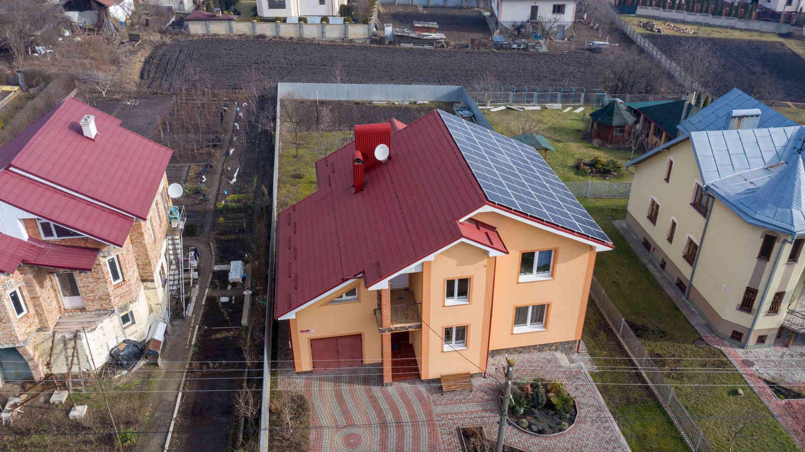 Мережева сонячна електростанція (СЕС) потужністю 14,08 кВт – Фотозвіт #3