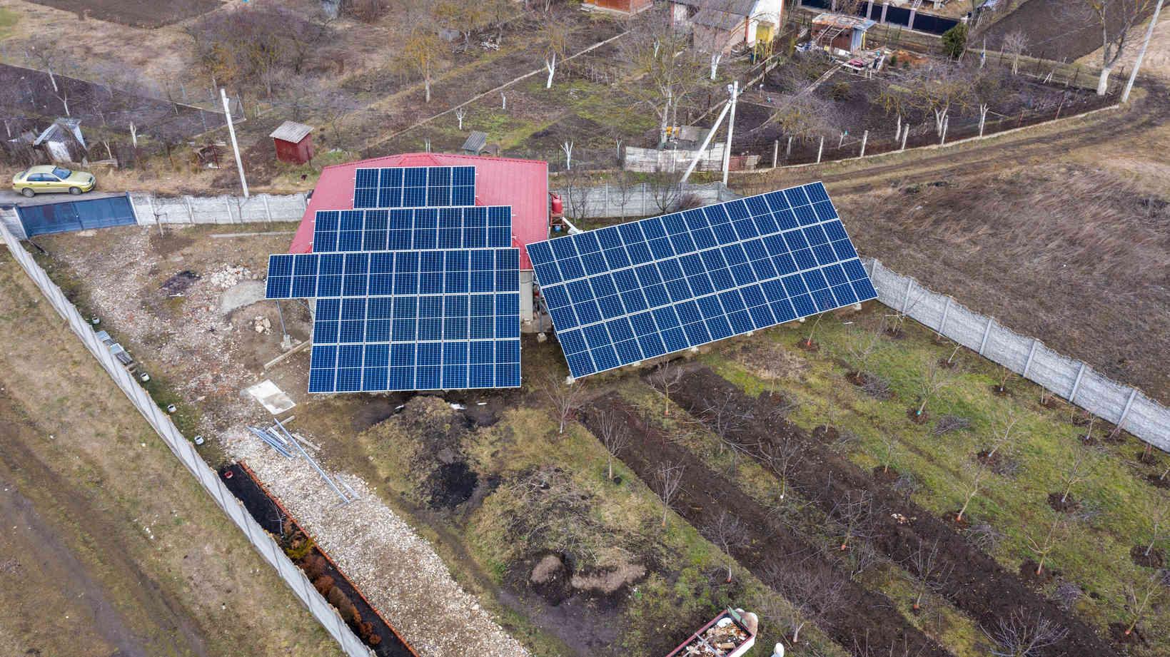 Мережева сонячна електростанція (СЕС) потужністю 34,425 кВт – Фотозвіт #3