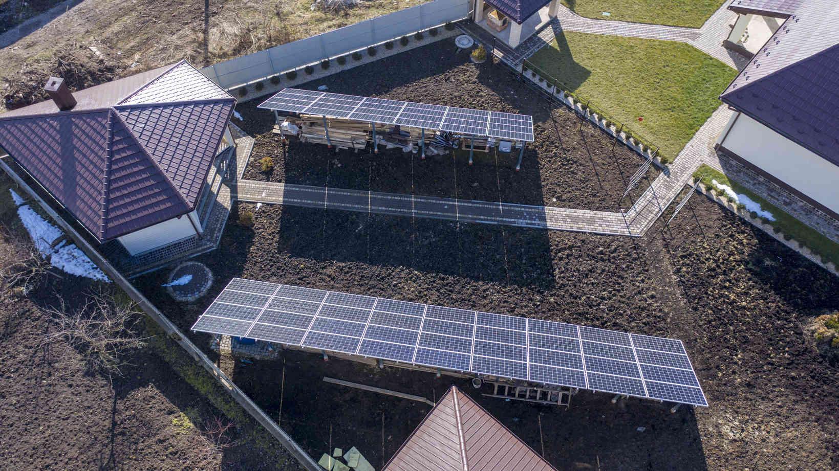 Мережева сонячна електростанція (СЕС) потужністю 20,7 кВт – Фотозвіт #4