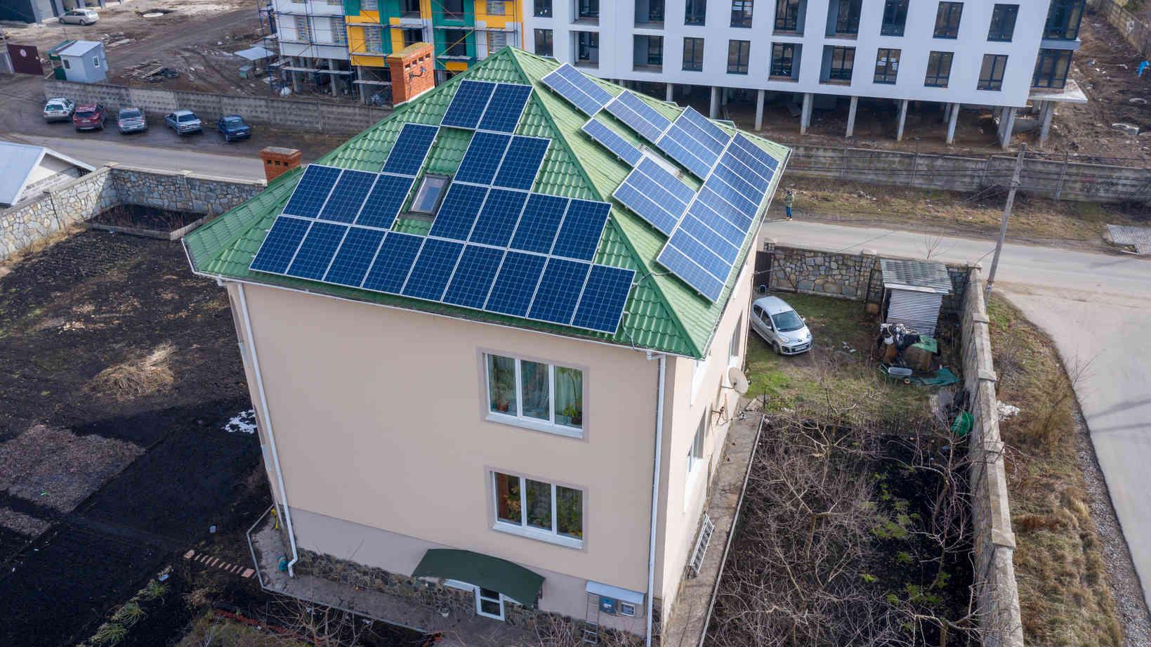 Мережева сонячна електростанція (СЕС) потужністю 15,12 кВт – Фотозвіт #4