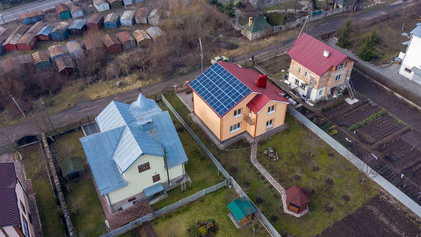 Мережева сонячна електростанція (СЕС) потужністю 14,08 кВт – Фотозвіт #4