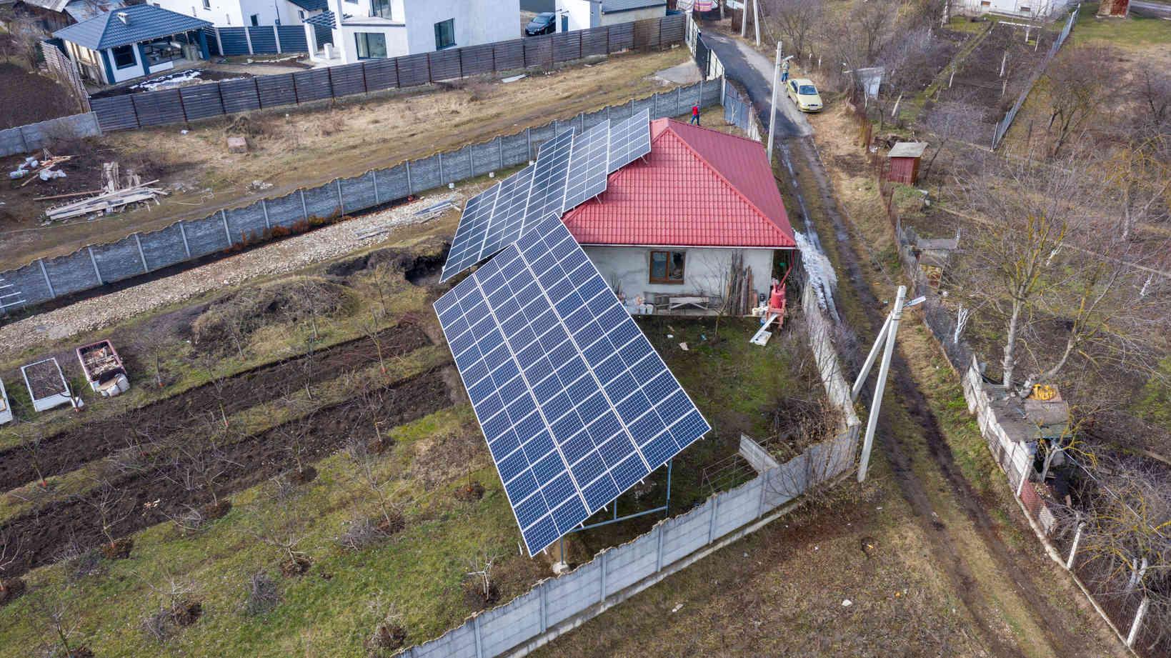 Мережева сонячна електростанція (СЕС) потужністю 34,425 кВт – Фотозвіт #4