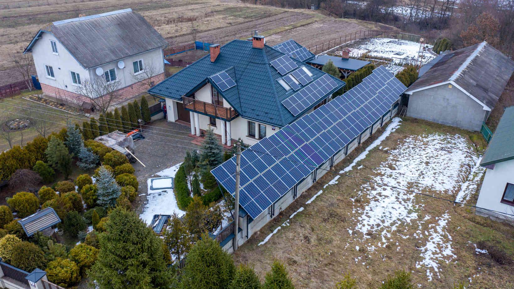 Мережева сонячна електростанція (СЕС) потужністю 33,68 кВт – Фотозвіт #4
