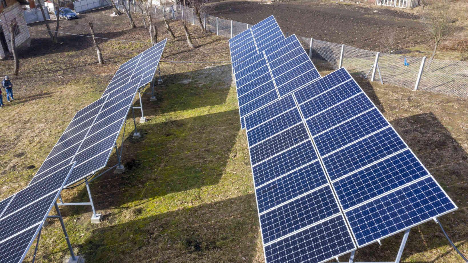 Мережева сонячна електростанція (СЕС) потужністю 38,64 кВт – Фотозвіт #4
