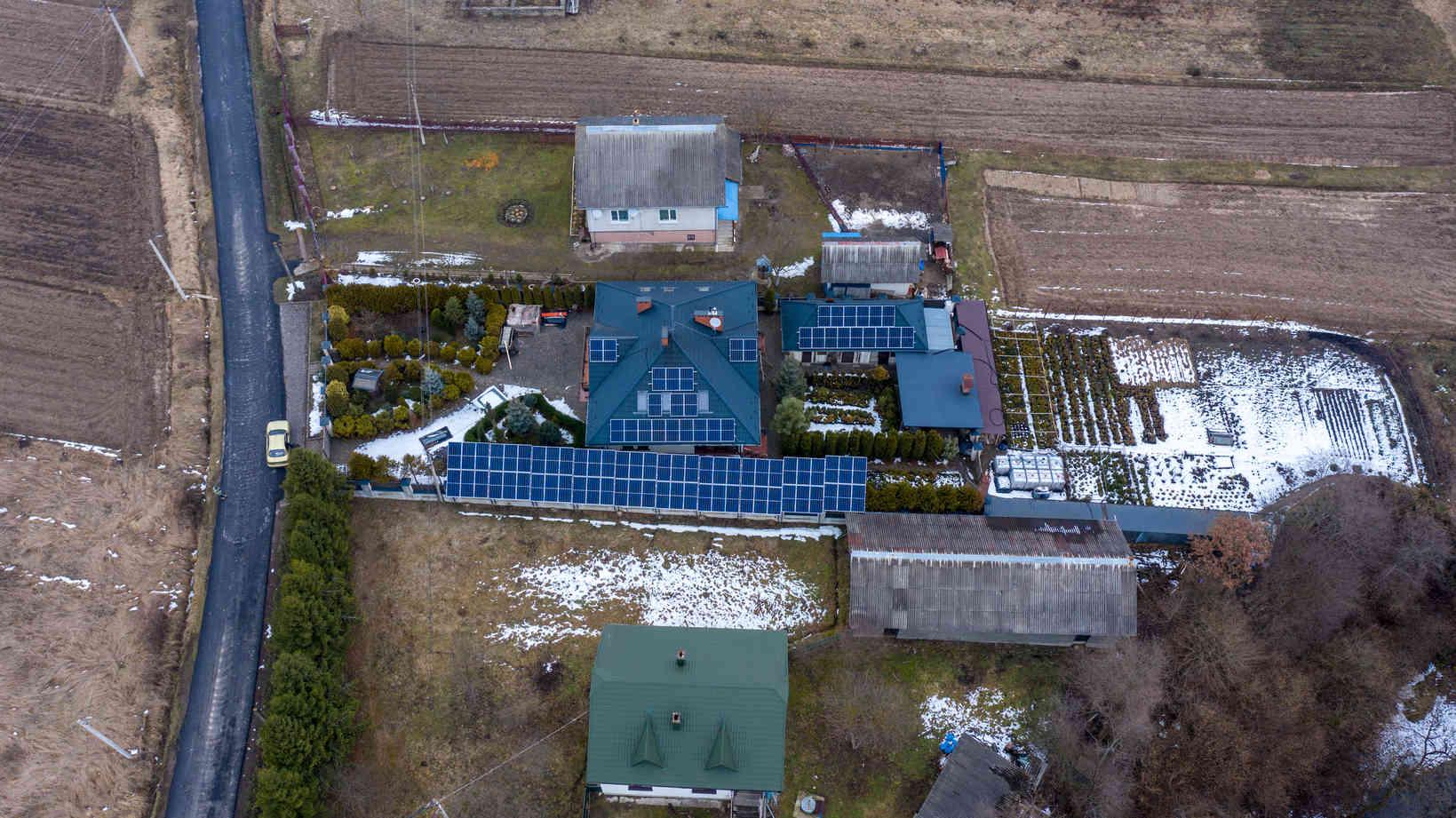 Мережева сонячна електростанція (СЕС) потужністю 33,68 кВт – Фотозвіт #5