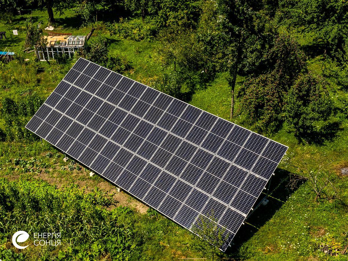 Мережева сонячна електростанція (СЕС) потужністю 18,225 кВт – Фотозвіт #4