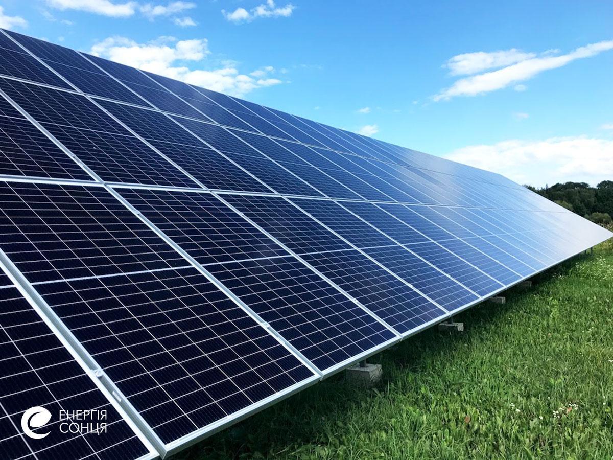 Мережева сонячна електростанція (СЕС) потужністю 36,08 кВт – Фотозвіт #3