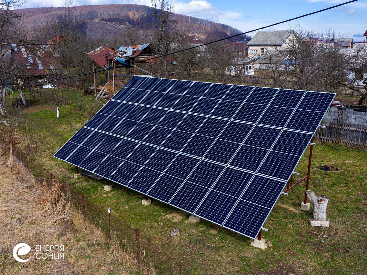 Дві мережеві сонячні електростанції (СЕС) загальною потужністю 21,39 кВт – Фотозвіт #4