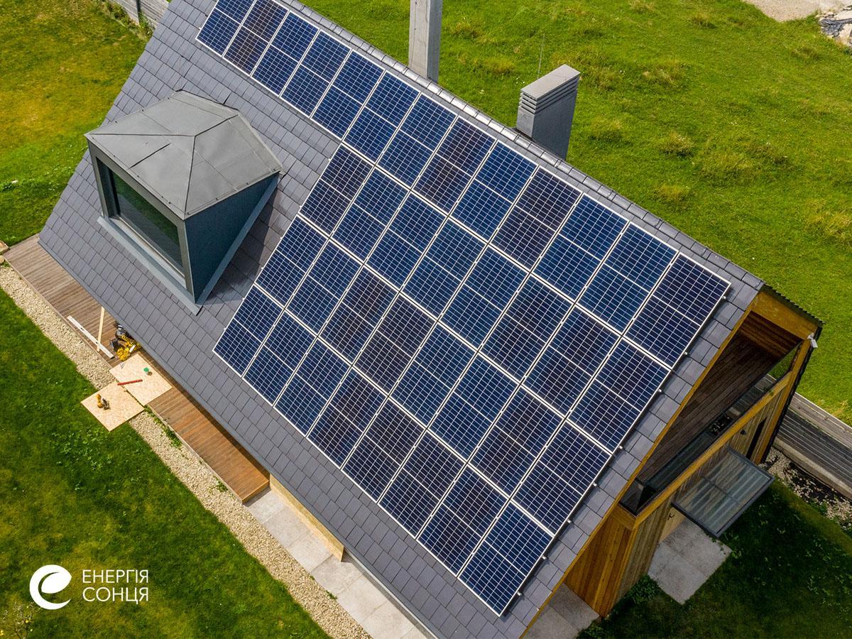 Мережева сонячна електростанція (СЕС) потужністю 12,21 кВт – Фотозвіт #5