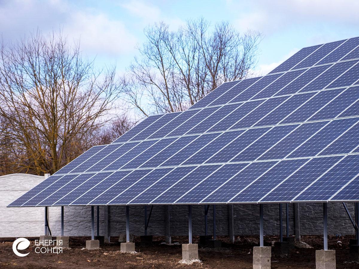 Дві мережеві сонячні електростанції (СЕС), загальною потужністю 76,05 кВт – Фотозвіт #3