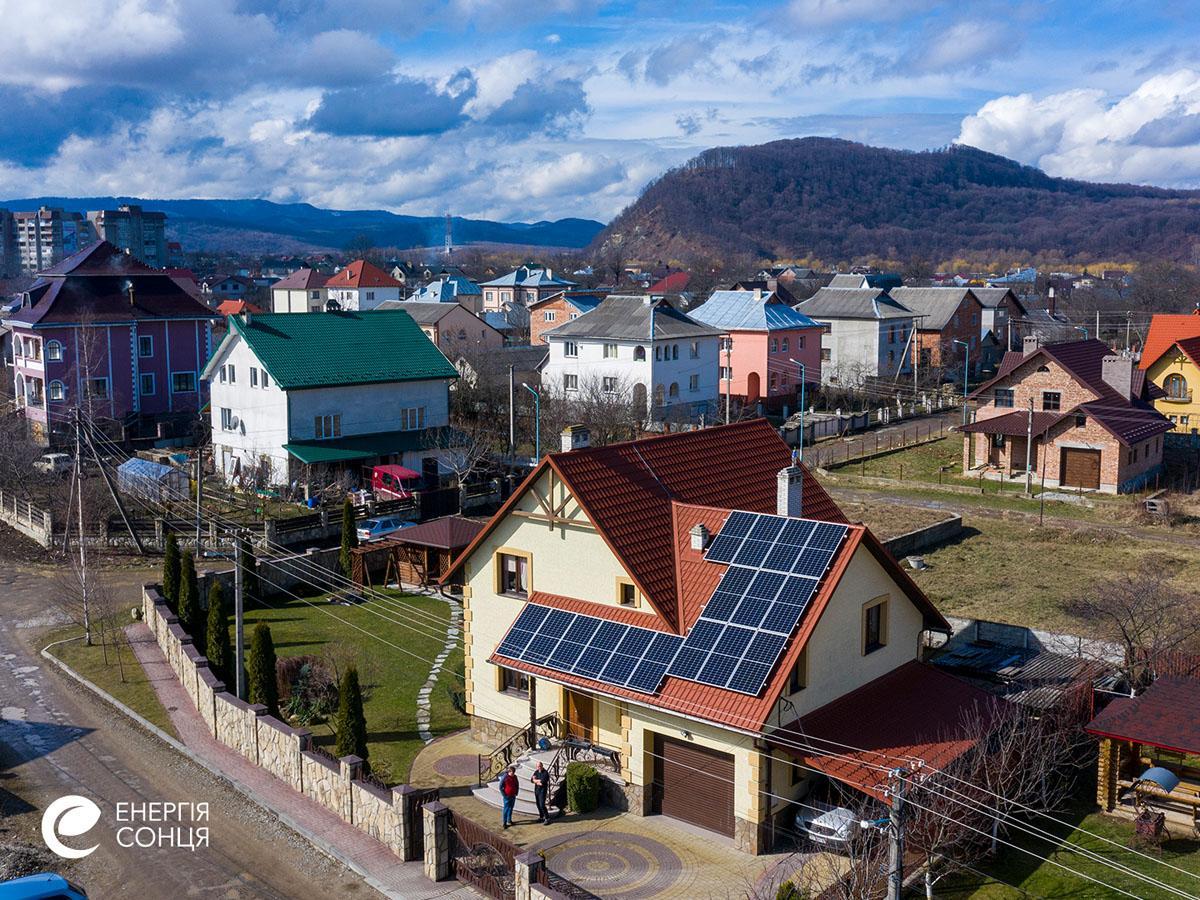Мережева сонячна електростанція (СЕС) потужністю 15,96 кВт – Фотозвіт #4