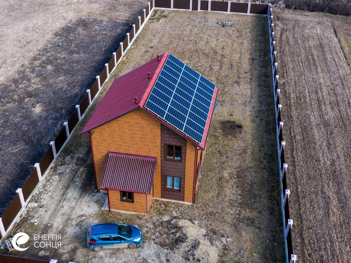 Мережева сонячна електростанція (СЕС) потужністю 8,23 кВт – Фотозвіт #4