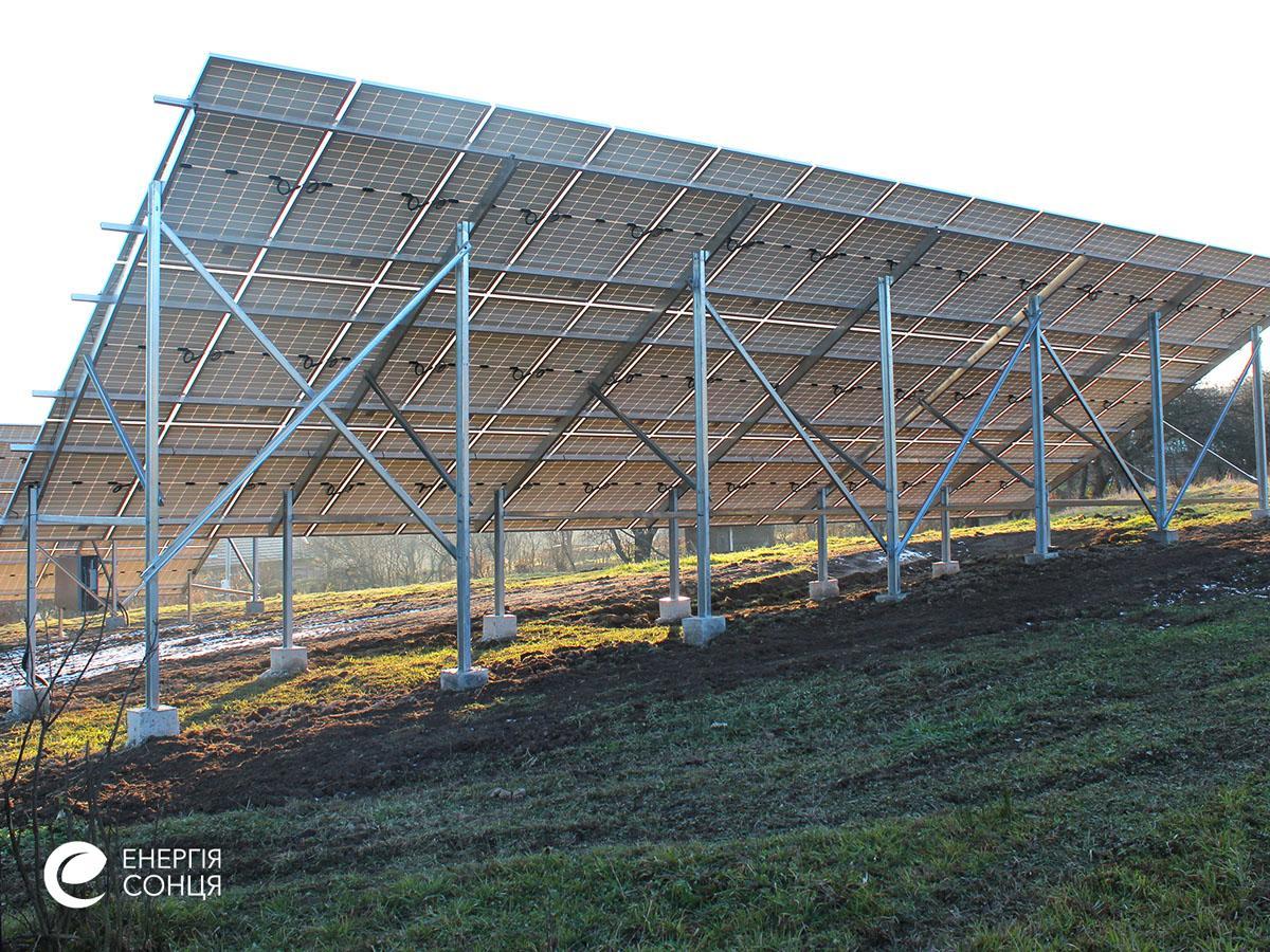 Мережева сонячна електростанція (СЕС) потужністю 38,715 кВт – Фотозвіт #5