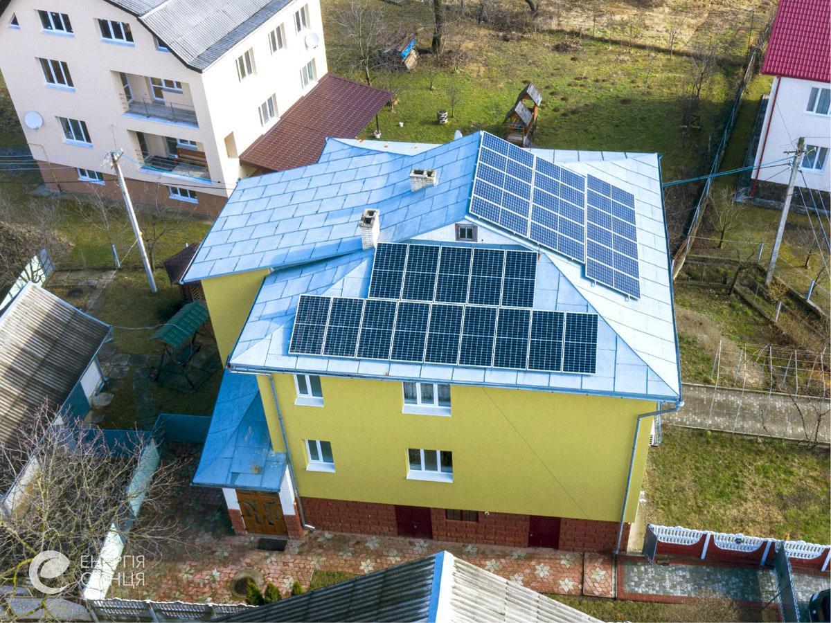 Мережева сонячна електростанція (СЕС) потужністю 11,55 кВт – Фотозвіт #2