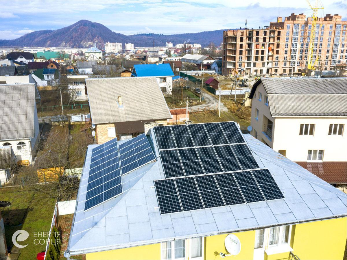 Мережева сонячна електростанція (СЕС) потужністю 11,55 кВт – Фотозвіт #3