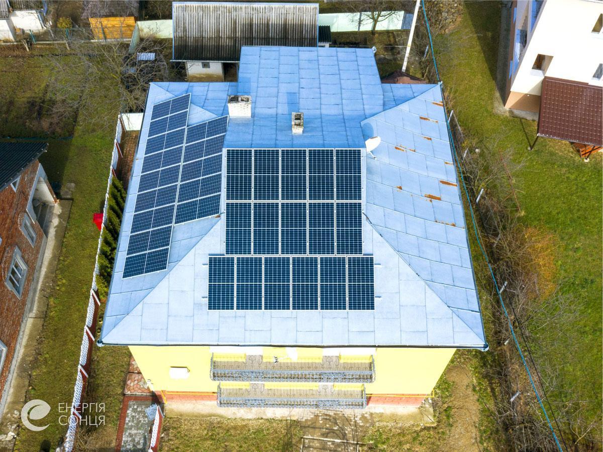 Мережева сонячна електростанція (СЕС) потужністю 11,55 кВт – Фотозвіт #4