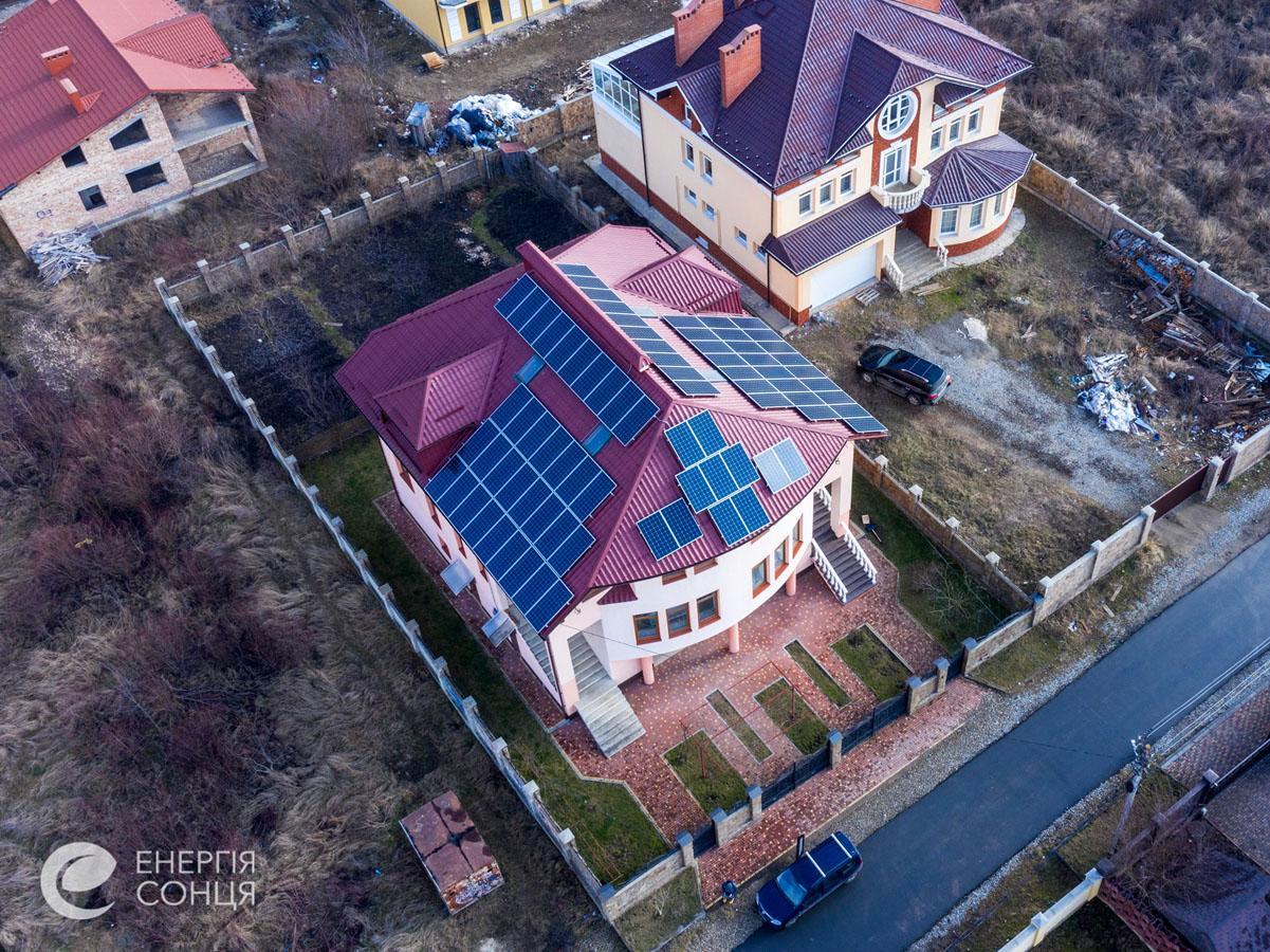 Мережева сонячна електростанція (СЕС) потужністю 27,7 кВт – Фотозвіт #3