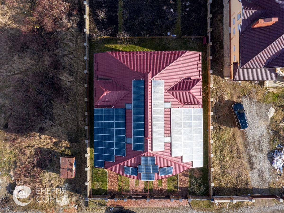 Мережева сонячна електростанція (СЕС) потужністю 27,7 кВт – Фотозвіт #4