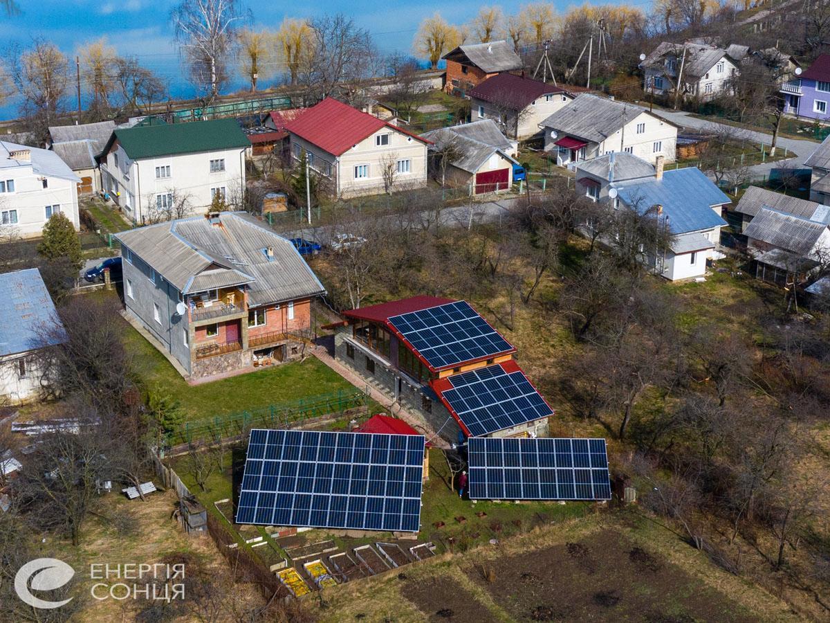 Мережева сонячна електростанція (СЕС) потужністю 33,15 кВт – Фотозвіт #3