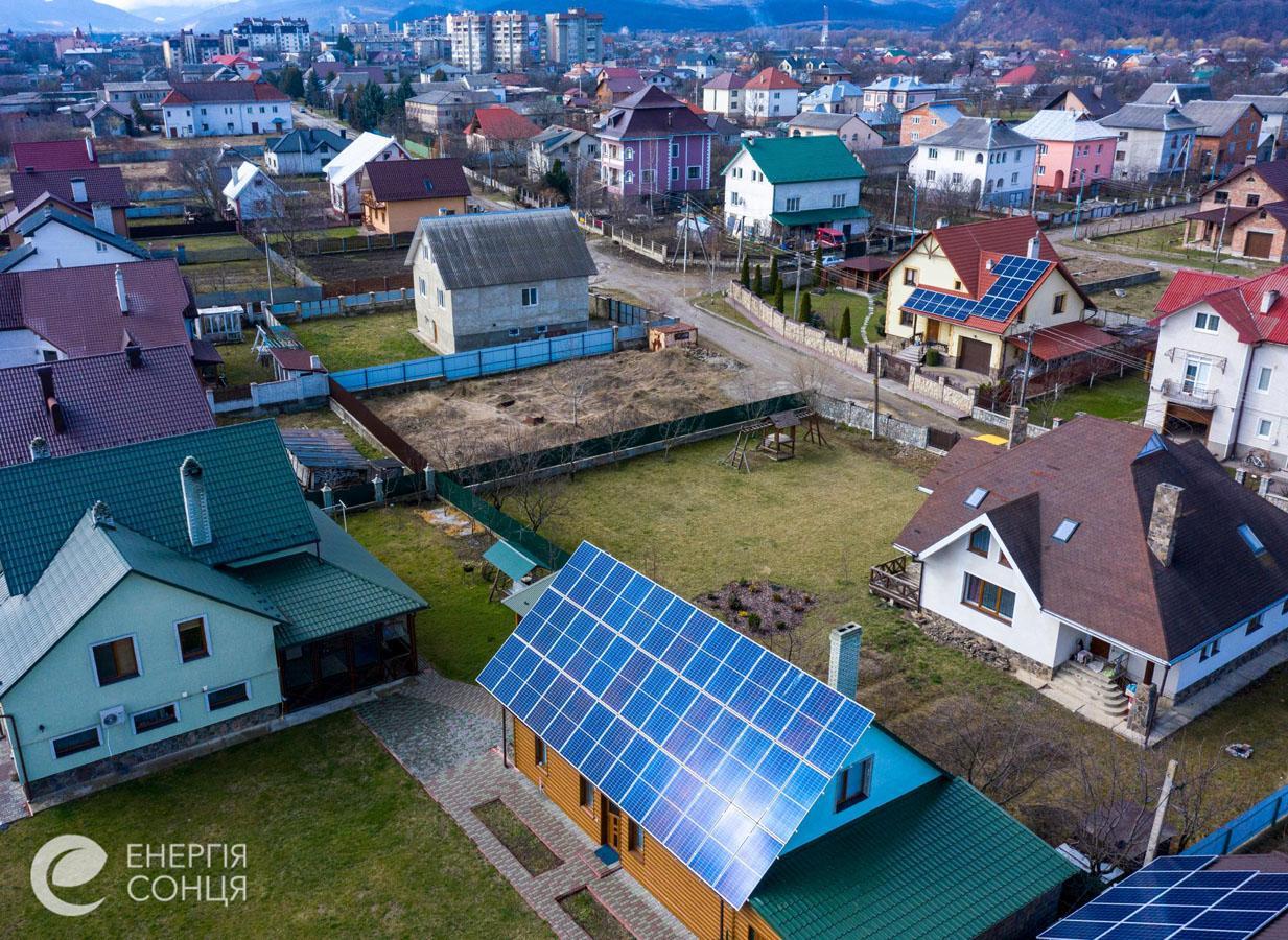 Мережева сонячна електростанція (СЕС) потужністю 15,6 кВт – Фотозвіт #2
