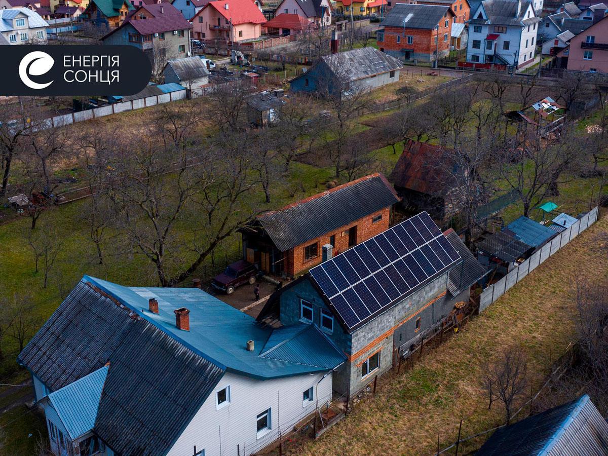 Дві мережеві сонячні електростанції (СЕС) загальною потужністю 21,39 кВт – Фотозвіт #1