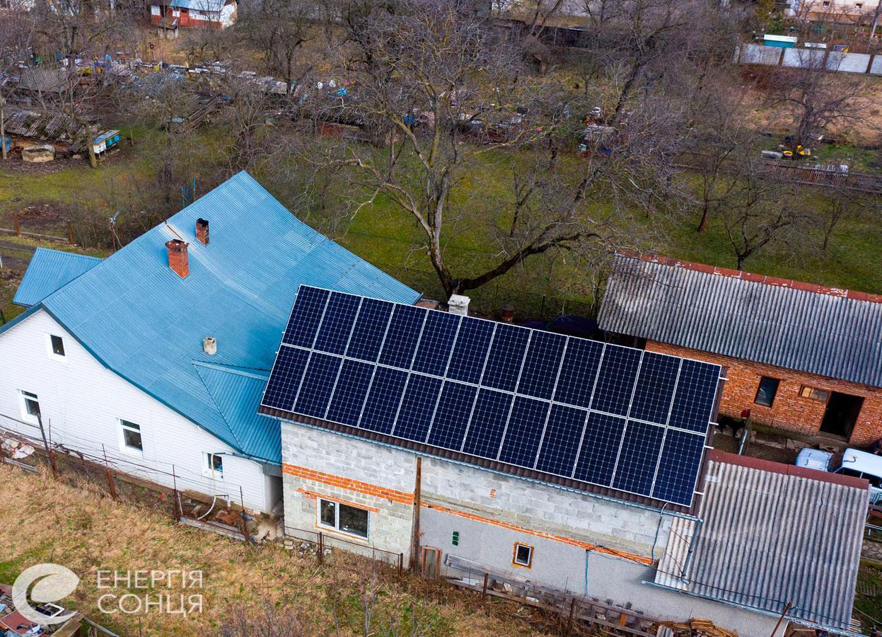 Дві мережеві сонячні електростанції (СЕС) загальною потужністю 21,39 кВт – Фотозвіт #2