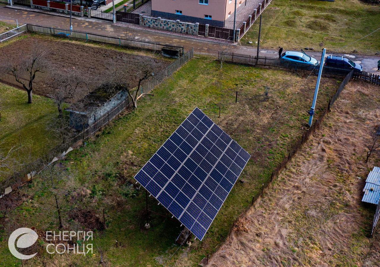Дві мережеві сонячні електростанції (СЕС) загальною потужністю 21,39 кВт – Фотозвіт #3