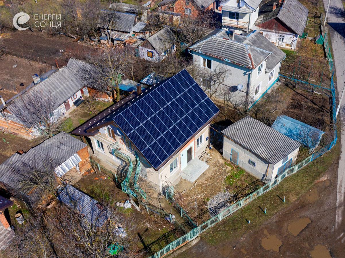 Мережева сонячна електростанція (СЕС) потужністю 12,54 кВт – Фотозвіт #2