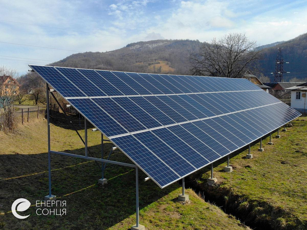 Мережева сонячна електростанція (СЕС) потужністю 36,18 кВт – Фотозвіт #2