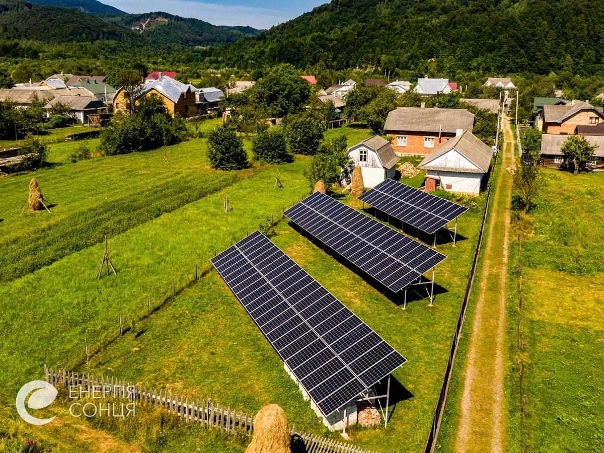 Мережева сонячна електростанція (СЕС) потужністю 38,64 кВт – Фотозвіт #2