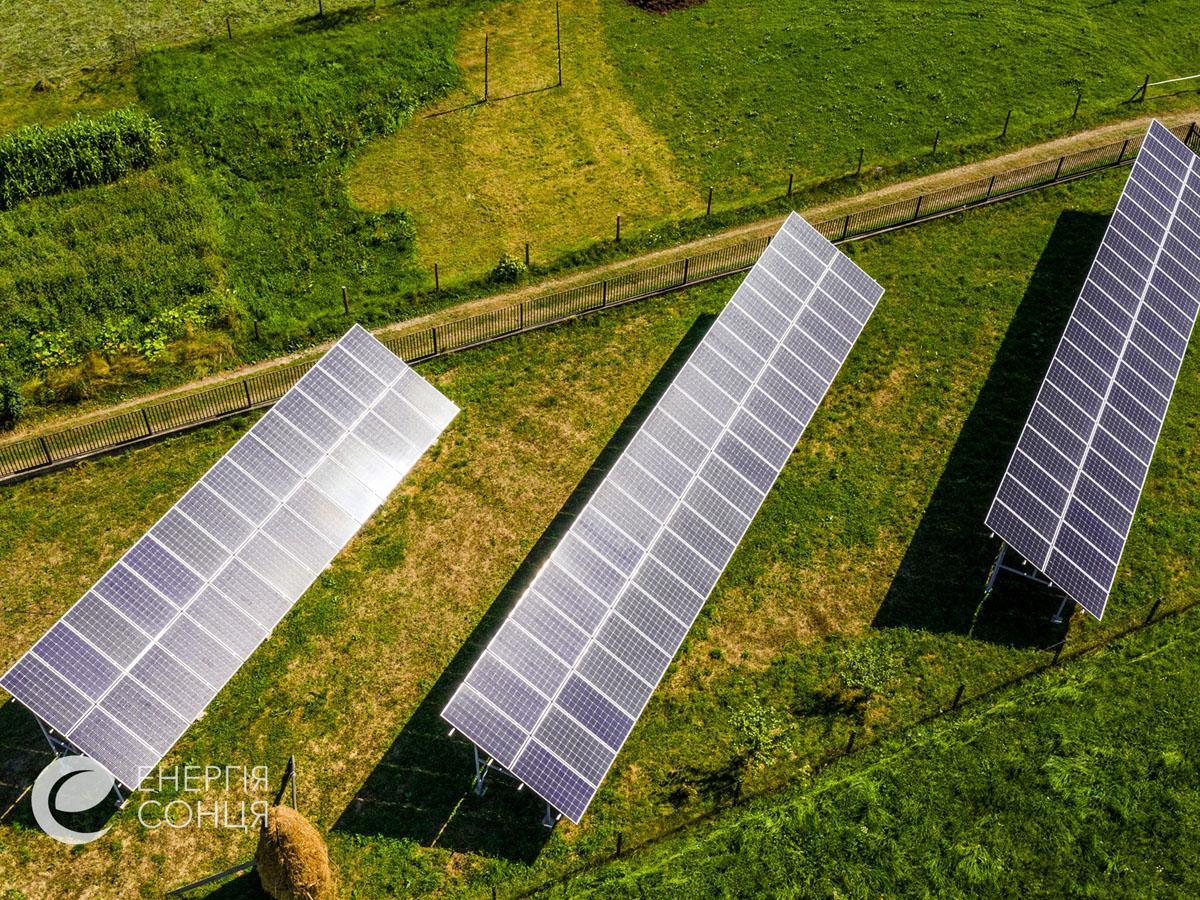 Мережева сонячна електростанція (СЕС) потужністю 38,64 кВт – Фотозвіт #3