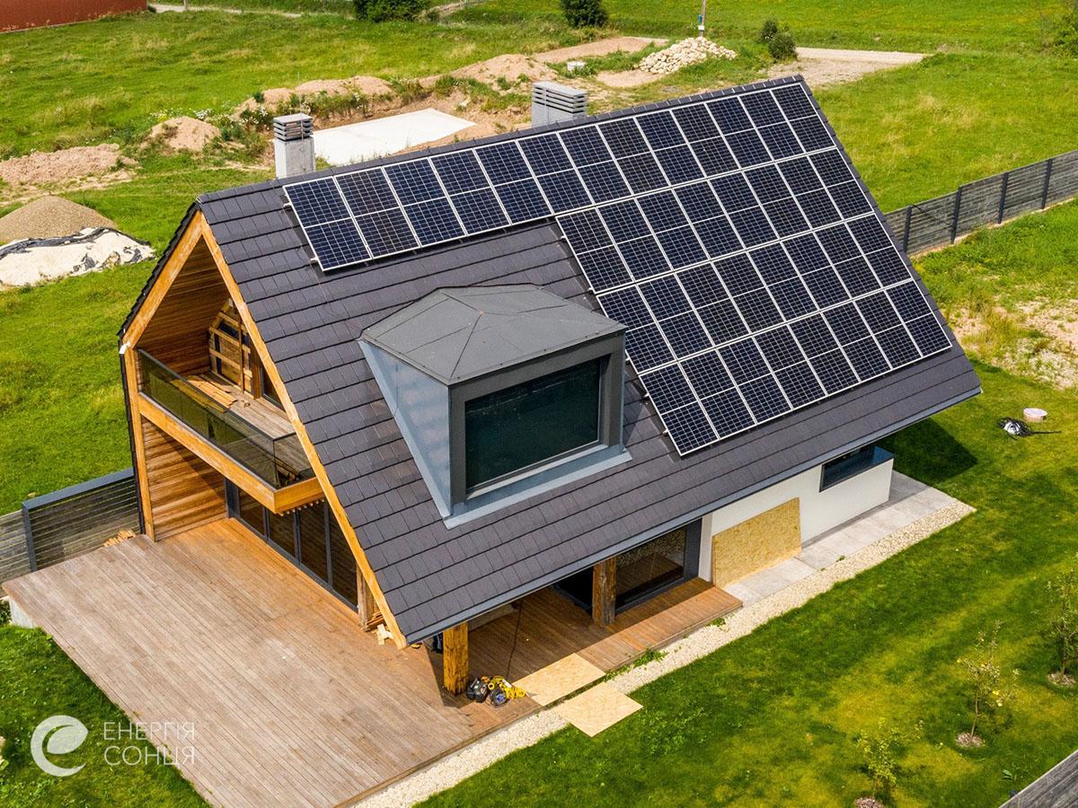 Мережева сонячна електростанція (СЕС) потужністю 12,21 кВт – Фотозвіт #2