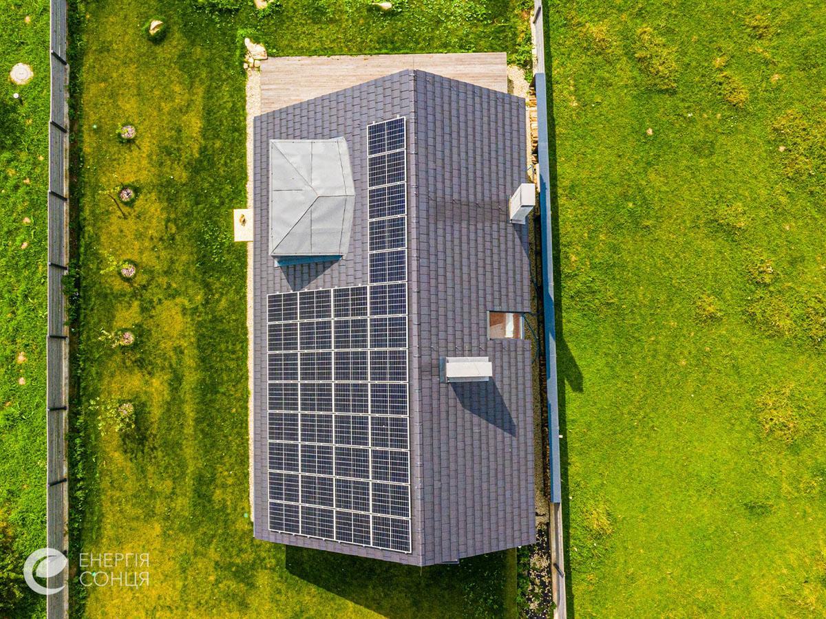 Мережева сонячна електростанція (СЕС) потужністю 12,21 кВт – Фотозвіт #3
