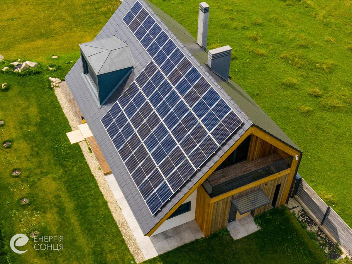 Мережева сонячна електростанція (СЕС) потужністю 12,21 кВт – Фотозвіт #4