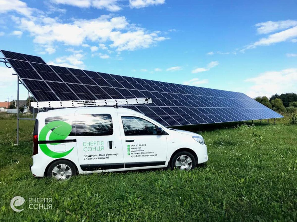 Мережева сонячна електростанція (СЕС) потужністю 36,08 кВт – Фотозвіт #2