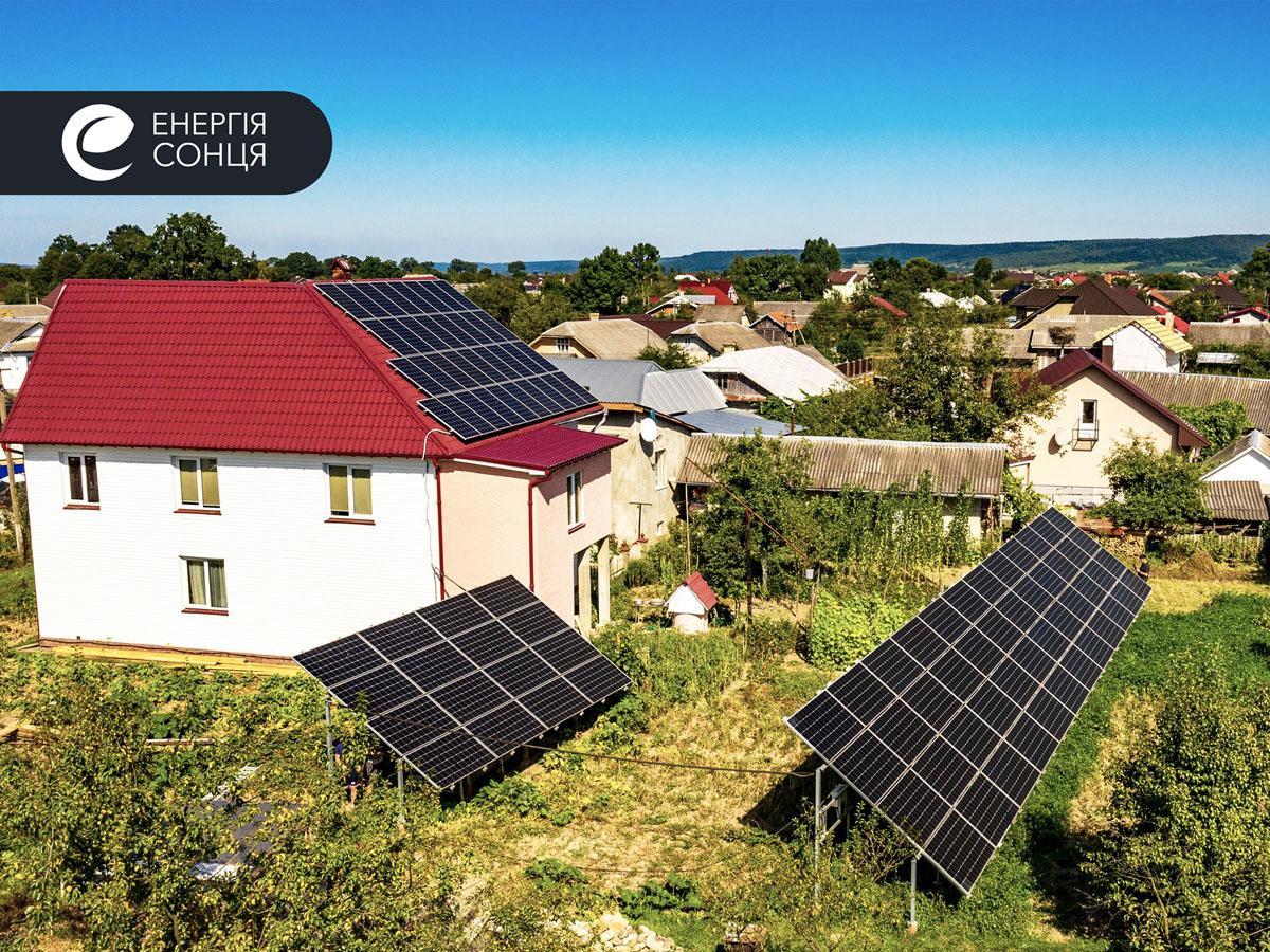 Мережева сонячна електростанція (СЕС) потужністю 32,23 кВт – Фотозвіт #1