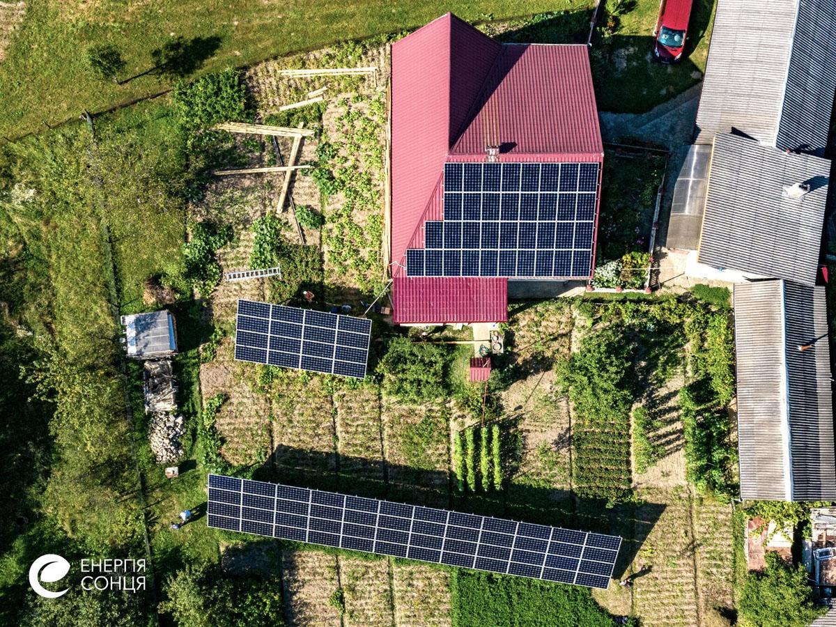 Мережева сонячна електростанція (СЕС) потужністю 32,23 кВт – Фотозвіт #3