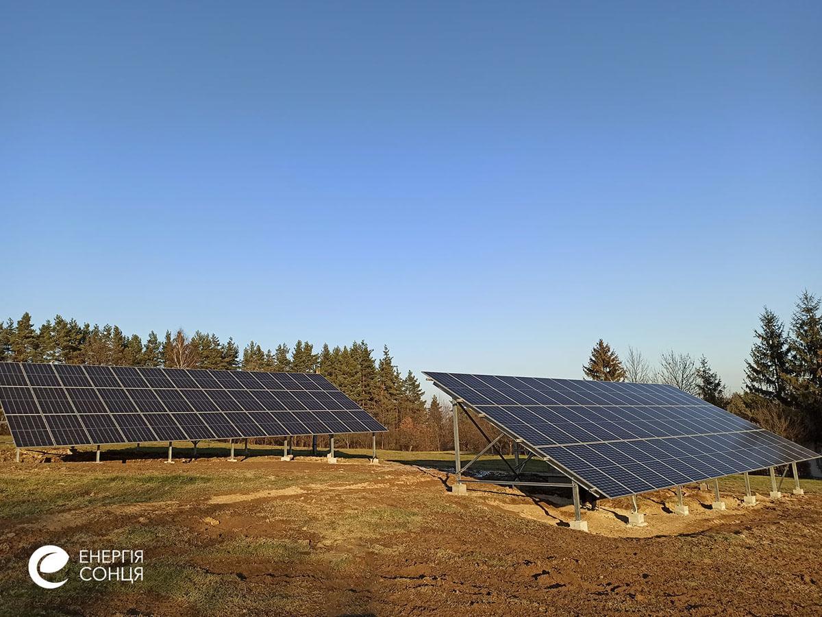 Мережева сонячна електростанція (СЕС) потужністю 38,715 кВт – Фотозвіт #2